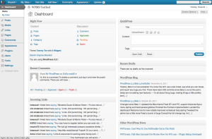 3.2.1, gray admin theme, dashboard