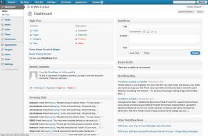 3.2.1, gray admin theme, dashboard