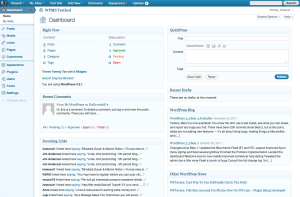 3.2.1, blue admin theme, dashboard