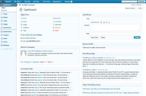 3.2.1, blue admin theme, dashboard